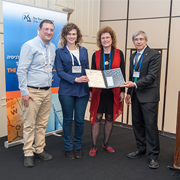 Congratulation to the PhD student Merav Segal, for winning the best poster award in the 2017 ICS meeting