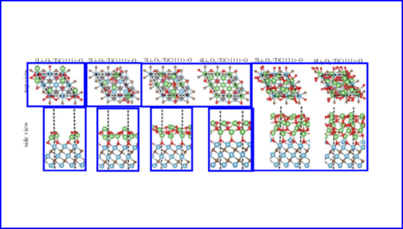 Theoretical Investigation of Li- and Na-oxide and Peroxide Adsorption on TiC(111) Surface for Metal-air Rechargeable Batteries