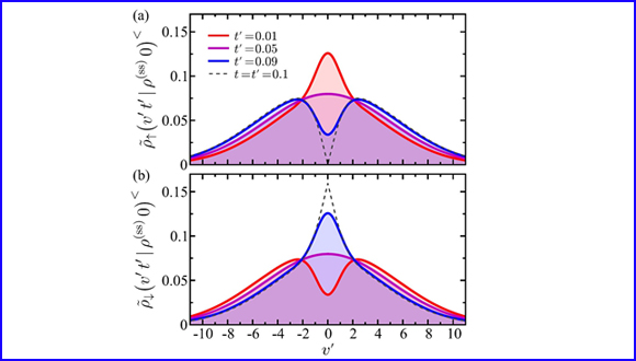 Upside/Downside statistical mechanics of nonequilibrium Brownian motion. I. Distributions, moments, and correlation functions of a free particle