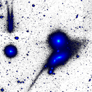 "Astronomers Discover Giant Relic of Disrupted ""Tadpole"" Galaxy"