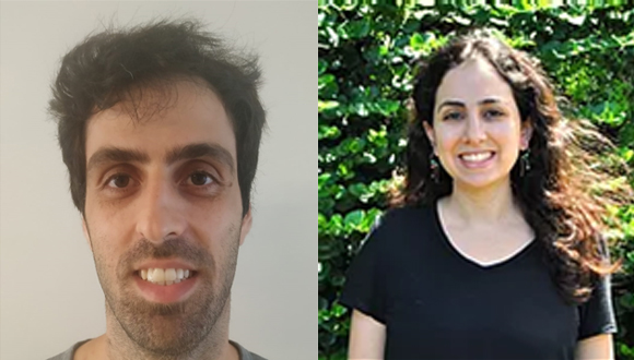 Congratulations to PhD students Noa Gilat and Tzach Mukra from the School of Chemistry for winning the Eran and Avital Rabani Award for groundbreaking work in Chemistry