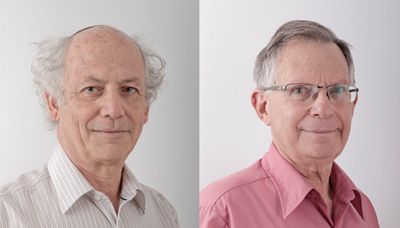 New IPS Fellows - Prof. David Bergman and Prof. Tsevi Mazeh