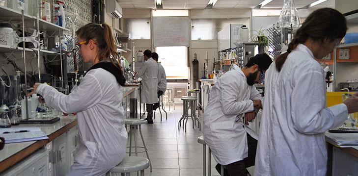 Advanced teaching laboratories