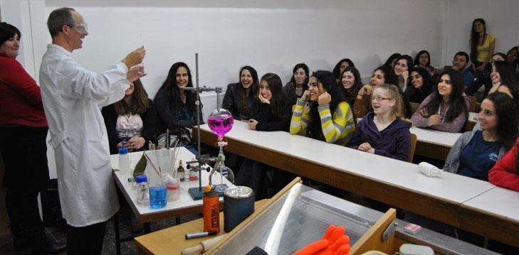 Promoting science education in Israel