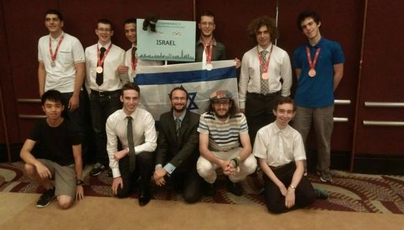 Israel's math team 2016
