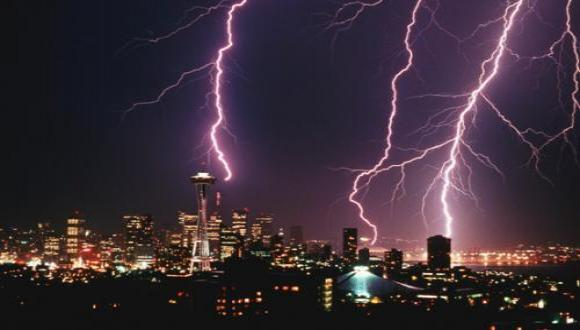 A new study finds protective effect of lightning on physiological cell activity