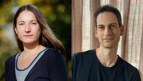 Congratulation to PhD students Ore Gottlieb and Dalia Baron