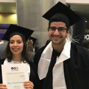 New team Graduates - Kineret Segal and Tzahi Taub